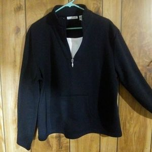 Long sleeve fleece sweater